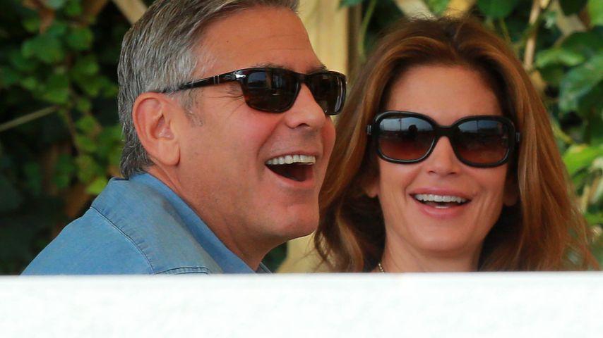 Cooler Clooney! Kein Hochzeits-Stress bei George