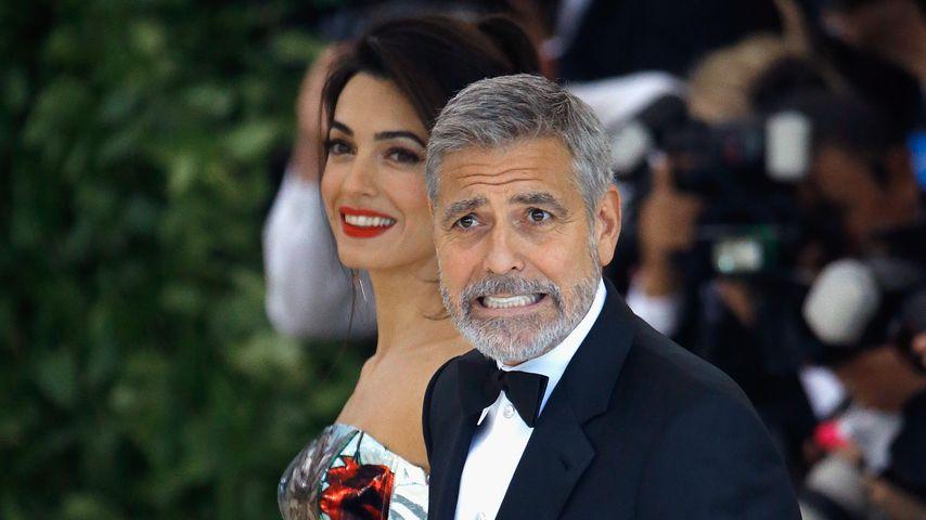Amal und George Clooney bei der Met Gala 2018