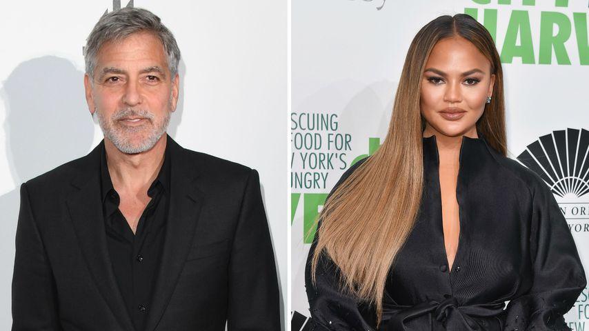 Herrlich frech! George Clooney ist Fan von Chrissy Teigen