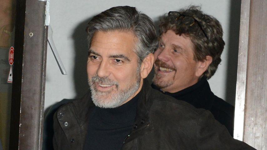 George Clooney: Bye bye, Berlin!