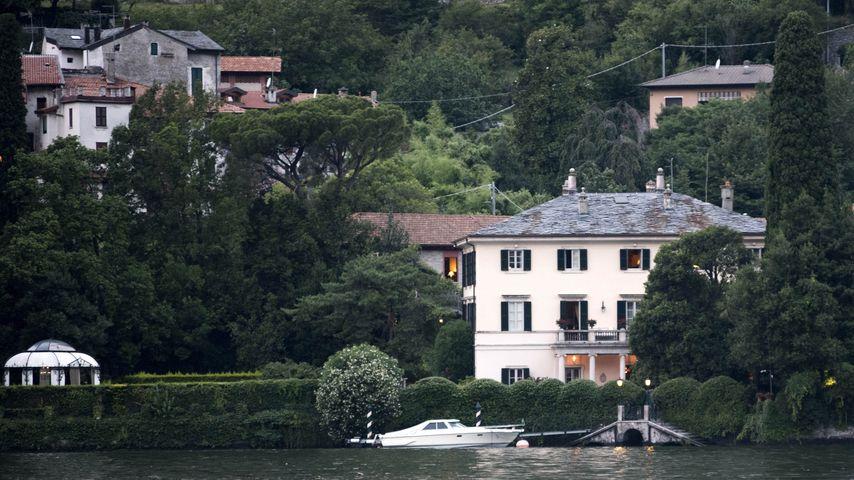 George Clooneys Villa am Comer See, 2018