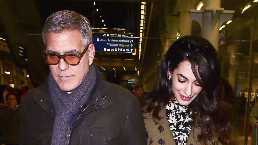 George und Amal Clooney in London