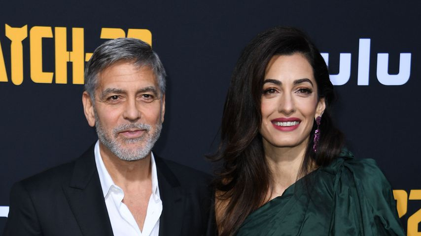 George und Amal Clooney, Mai 2019