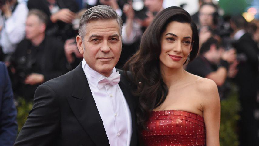 George und Amal Clooney, 2015