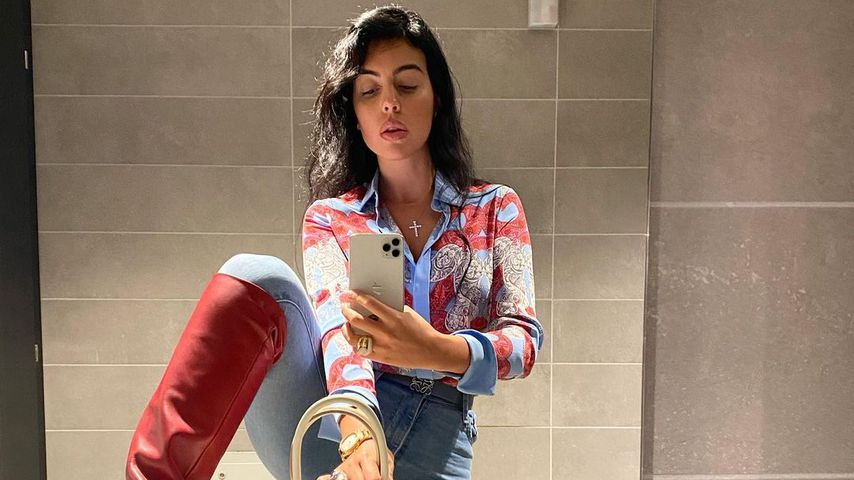 Georgina Rodríguez, Model