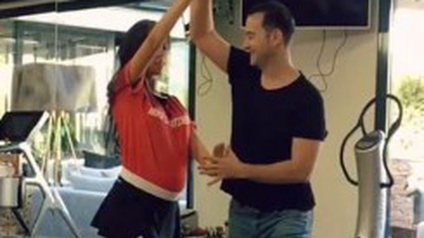 Sexy Mama! Cristiano Ronaldos Liebste tanzt mit Baby-Bauch