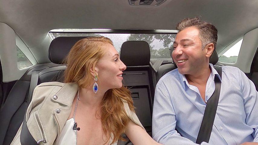 Georgina und Kubi auf dem Weg ins Sommerhaus