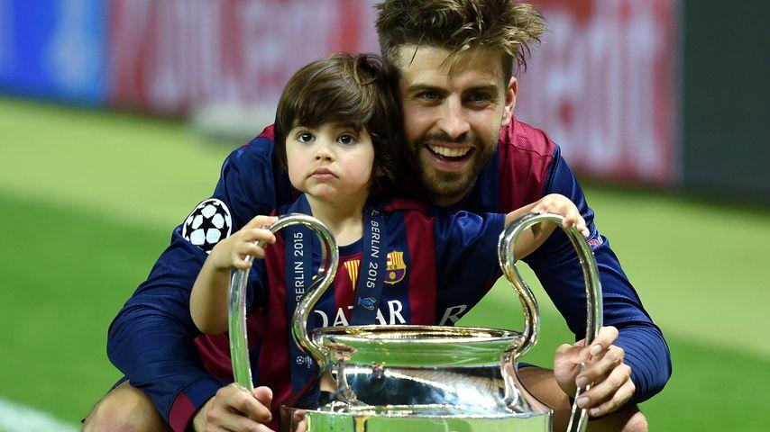 Champions League-Sieg: Ein Riesen-Pokal für Klein Milan!