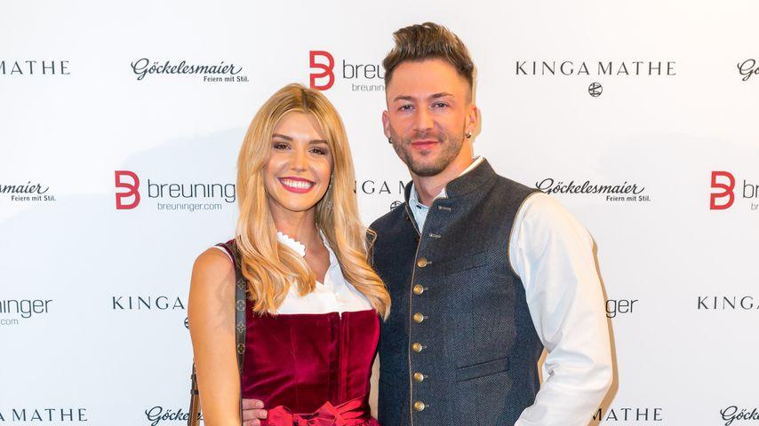 Premiere: Bachelorette Gerda mit Keno auf dem Red Carpet!