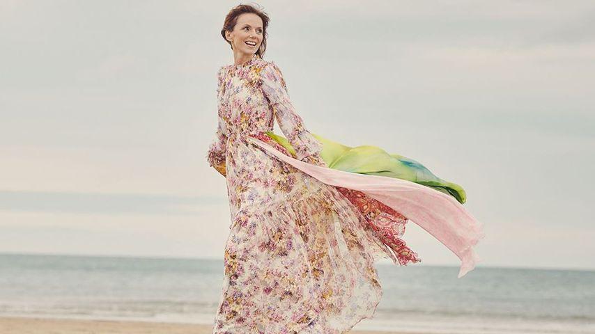 Geri Halliwell beim Strandspaziergang im November 2020
