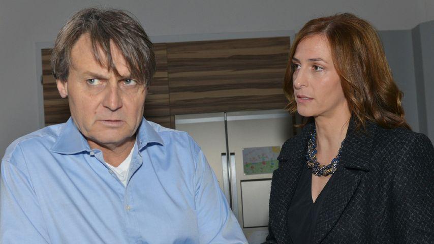 Gerner (Wolfgang Bahro) und Katrin (Ulrike Frank)
