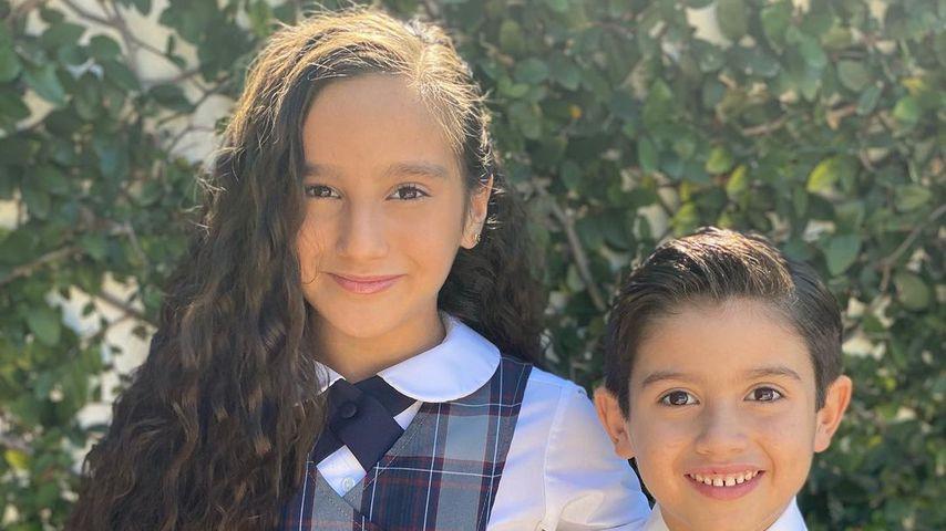 Gia und Dominic, Kinder von Mario Lopez