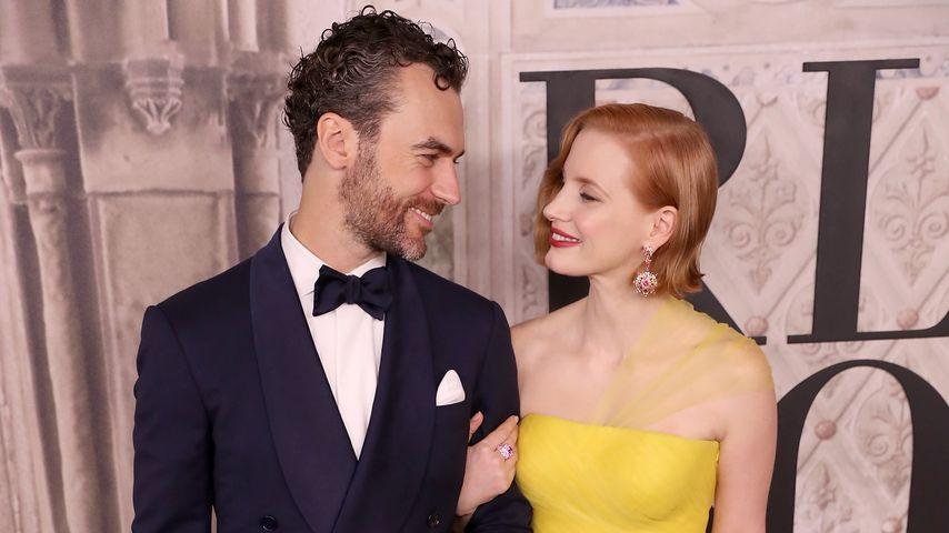 Gian Luca Passi de Preposulo und Jessica Chastain bei einem Event in New York