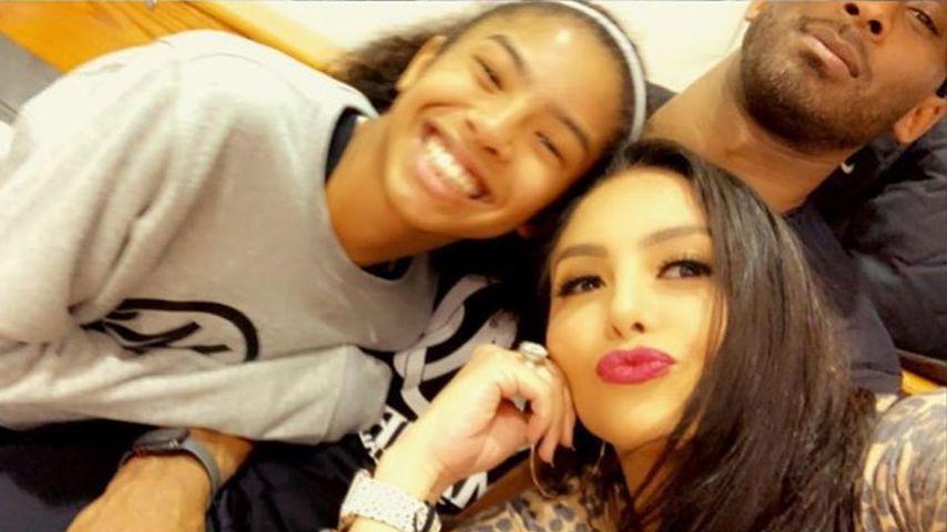 Gianna, Vanessa und Kobe Bryant