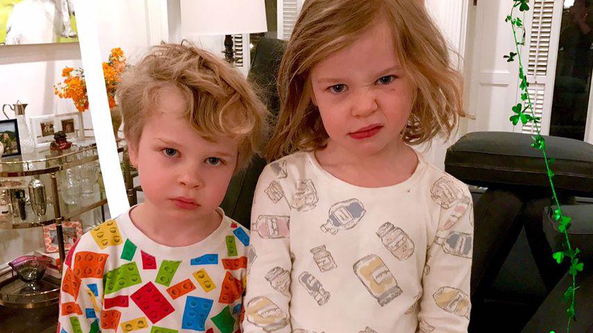 Gideon Scott und Harper Grace Burtka-Harris