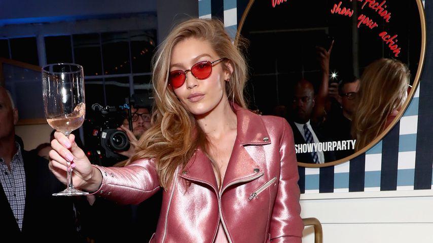 Gigi Hadid für Vogue Eyewear in New York