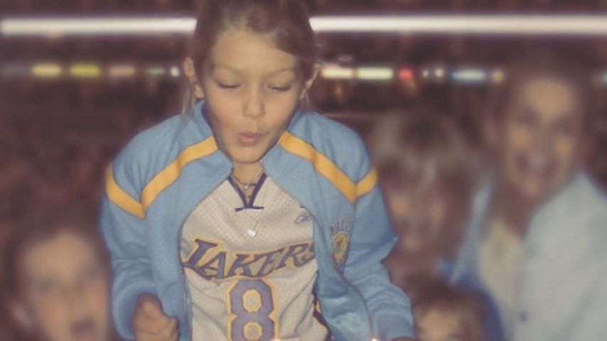 Sport-Girl: So süß war Gigi Hadid an ihrem 11. Geburtstag