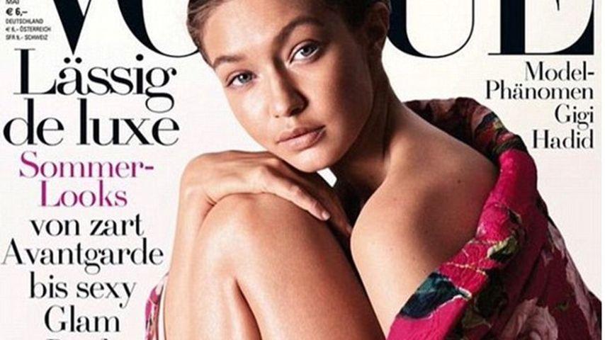 """Ungeschminktes """"Gretchen"""": Gigi Hadid ziert deutsche Vogue!"""