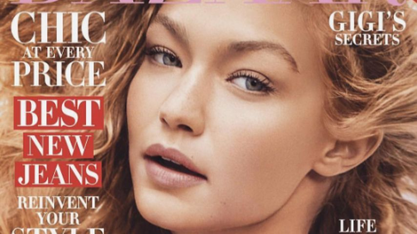Gigi Hadid auf dem Cover von Harper's Bazaar