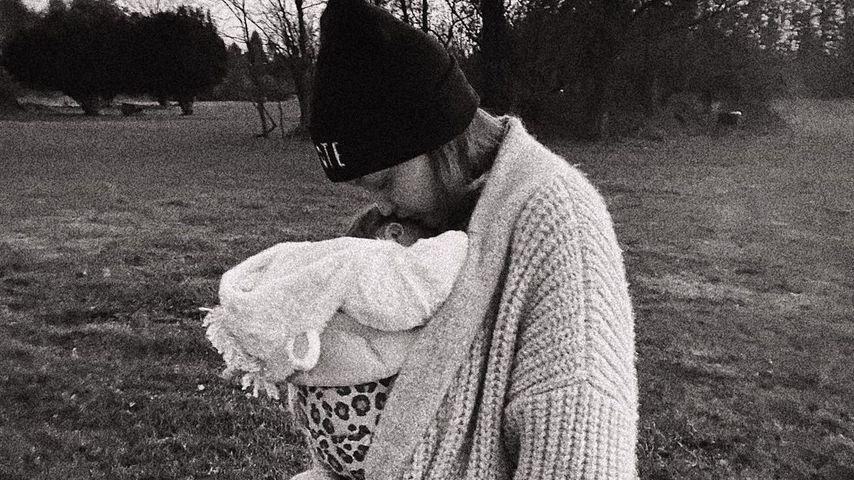 Gigi Hadid und ihre Tochter, November 2020
