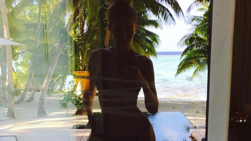Gigi Hadid im Urlaub