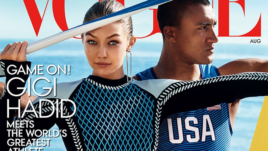 Model trifft Olympia: Gigi Hadid feiert 1. US-Vogue-Cover!