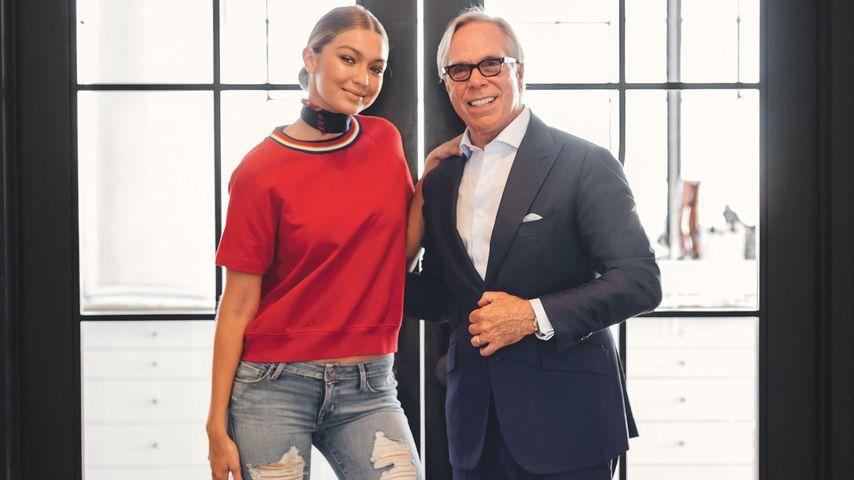 Gigi Hadid und Tommy Hilfiger