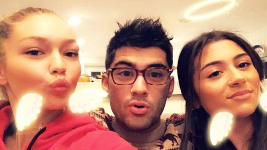 Gigi Hadid, Zayn Malik und Safaa Malik