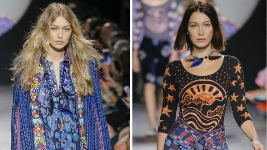 Hippie-Sisters: Wer trägt's besser – Gigi oder Bella Hadid?