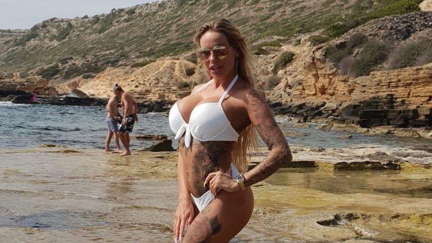 Gegen Hate: Gina-Lisa Lohfink hat jetzt Tattoo unter dem Po