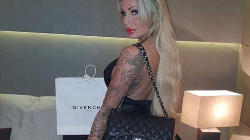 Gina-Lisa Lohfink in Mailand im September 2018