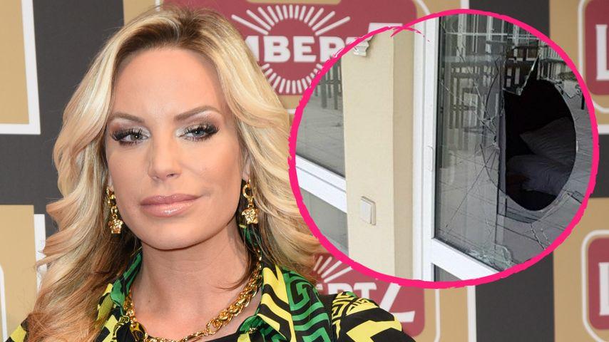 Aggro-Blondine: Gina-Lisa zerlegt im Streit ihr Hotelzimmer!