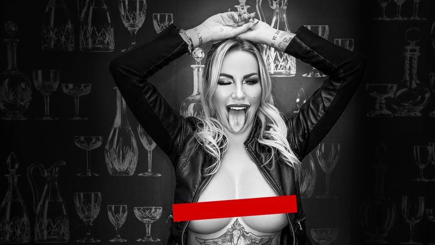 "Gina-Lisa Lohfinks Cover zur Single ""Boulevard"""