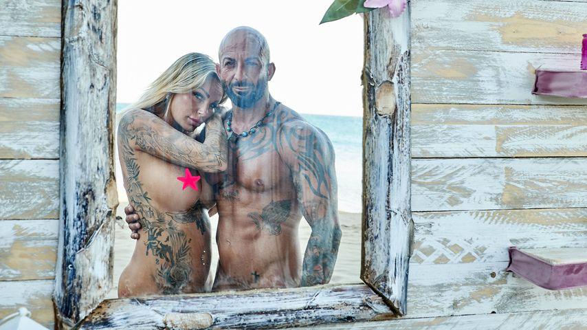 """Gina-Lisa und Antonino bei """"Adam sucht Eva"""" 2018"""