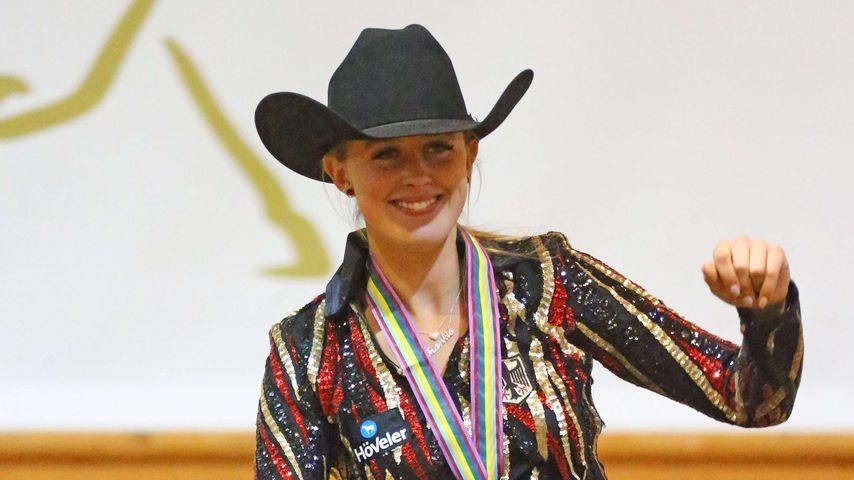 Strahlend schön: Schumis Tochter Gina holt WM-Gold im Reiten