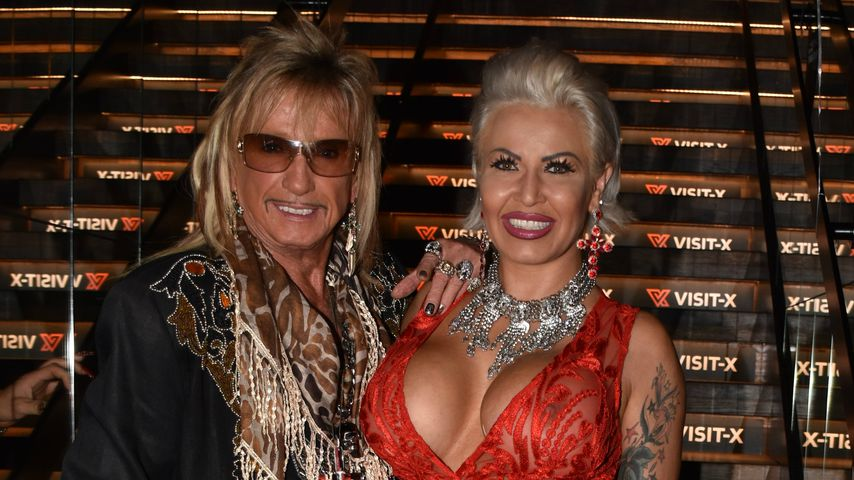 "Bert Wollersheim und Ginger Costello bei der Visit-X ""Night of the Nights""-Pre-Venus-Party"