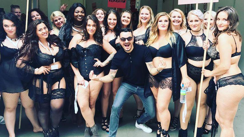 """Pikant: Verrät Giovanni Zarrella hier die """"Curvy Models""""?"""