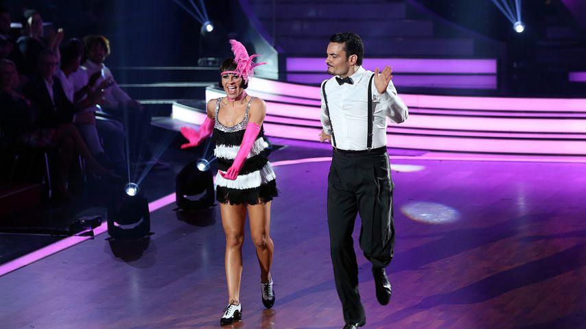 """Marta Arndt und Giovanni Zarrella  in """"Let's Dance""""-Show neun"""