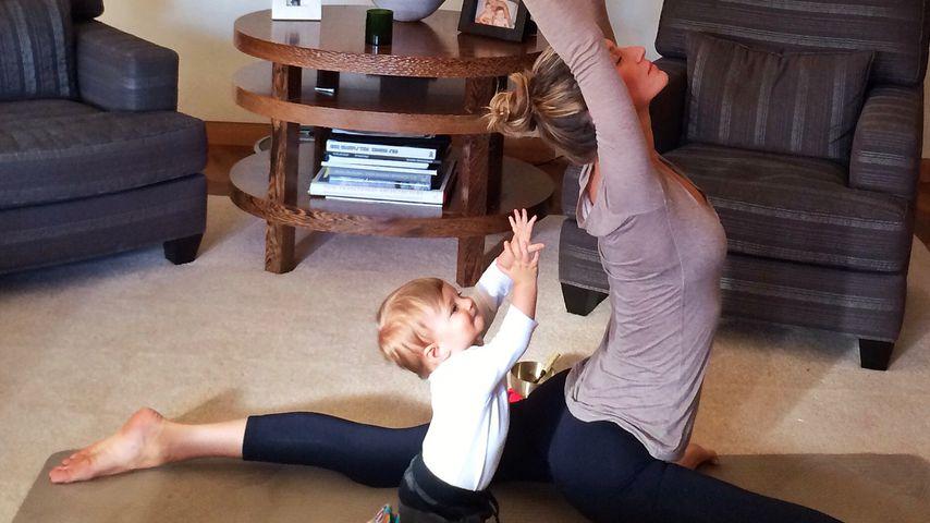 Gisele Bündchen und ihre Tochter Vivian Lake Brady (links)