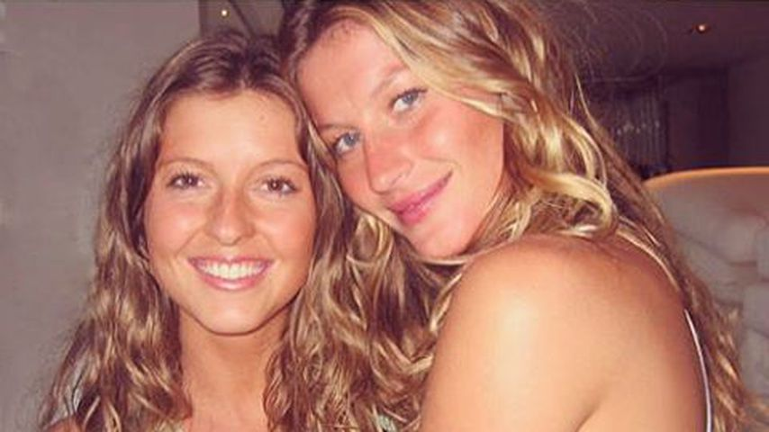 Gisele Bündchen und Zwillingsschwester Patricia