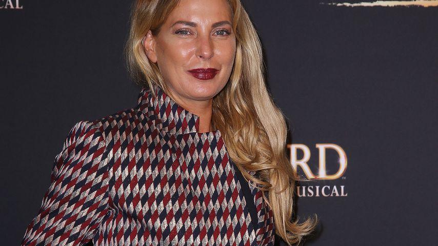 """Giulia Siegel bei der """"Bodyguard - Das Musical""""-Premiere in Stuttgart im September 2017"""