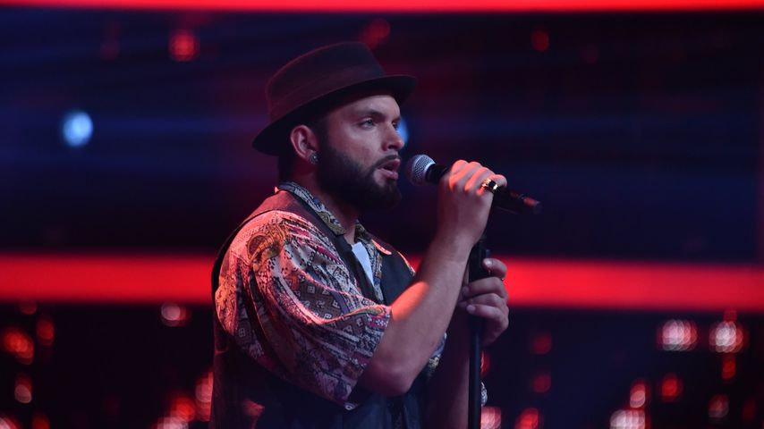 "Giuliano de Stefano bei ""The Voice of Germany"""
