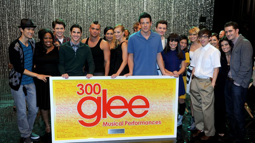 """Glee""-Cast in den Paramount Studios in Los Angeles"