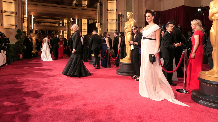 Glenn Close und Penelope Cruz bei der Oscar-Verleihung, 2014