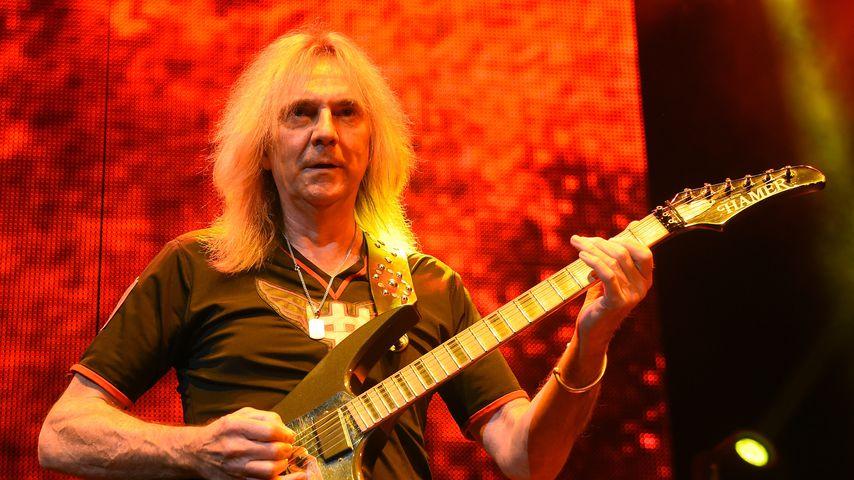 Wegen Parkinson: Judas Priest-Gitarrist muss Tour absagen!