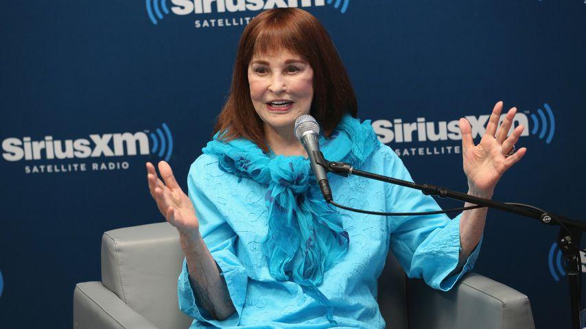 Gloria Vanderbilt in den SiriusXM Studios in New York, 2016