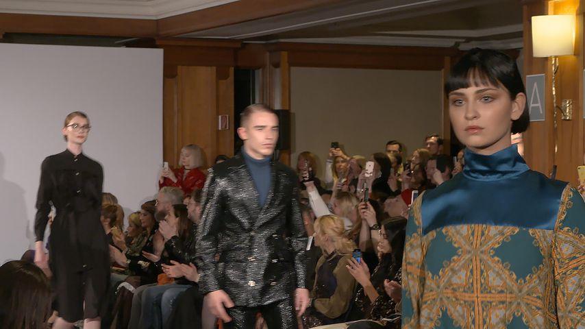 GNTM-Kandidatin Anastasia bei der Fashion Show von Marcel Ostertag im Januar 2020