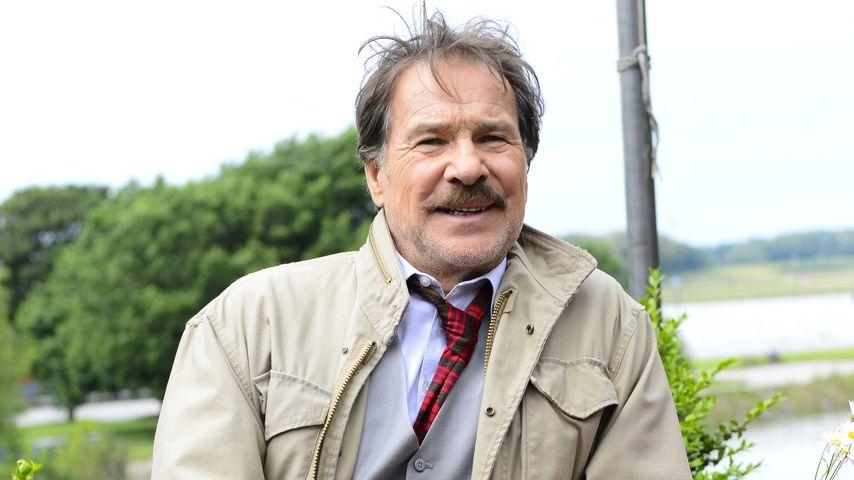 """Götz George in seiner Rolle als """"Schimanski"""" 2013"""