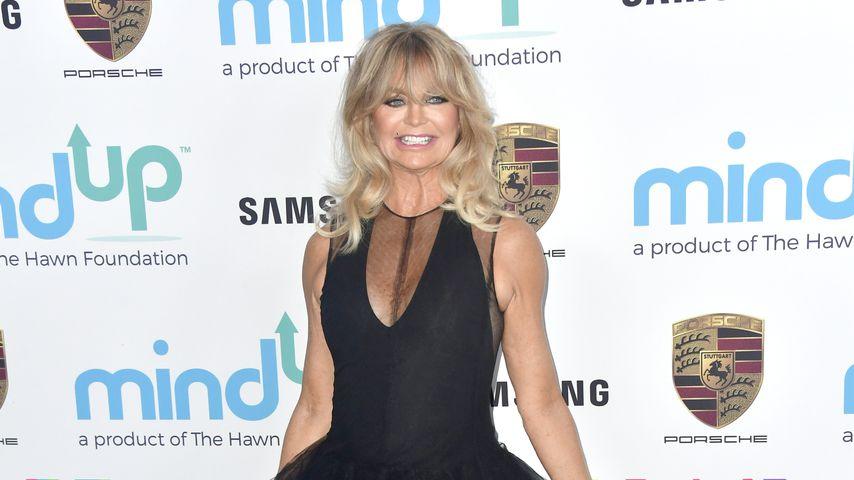 Goldie Hawn, November 2017