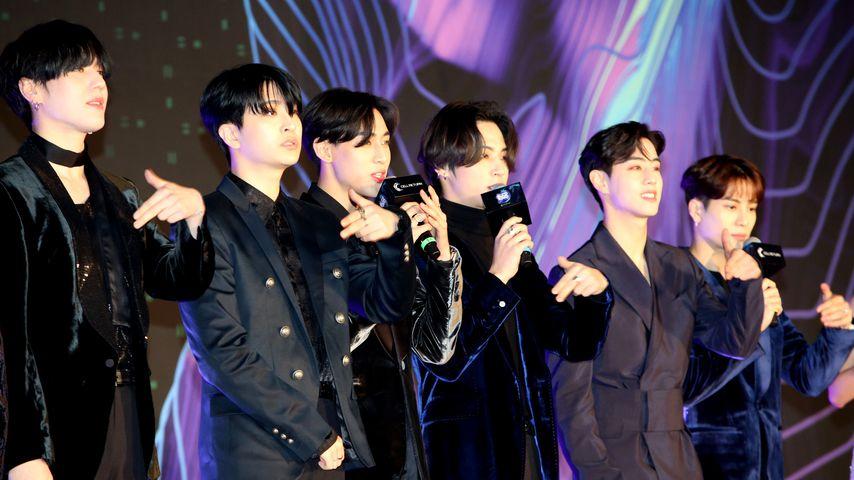 GOT7 in Nagoya, Japan im Dezember 2019